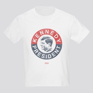 JFK for President Kids Light T-Shirt